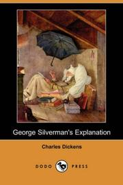 Cover of: George Silverman's Explanation