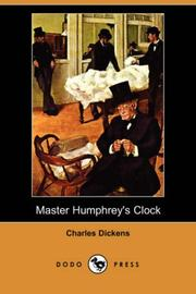 Cover of: Master Humphrey's Clock
