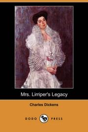 Cover of: Mrs. Lirriper's Legacy