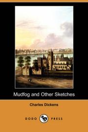Cover of: Mudfog and Other Sketches