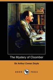The mystery of Cloomber by Sir Arthur Conan Doyle