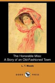 Cover of: The Honorable Miss