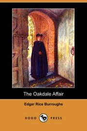 Cover of: The Oakdale Affair