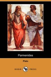 Cover of: Parmenides (Dodo Press) | Plato
