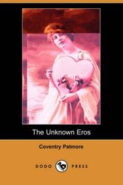 Cover of: The Unknown Eros
