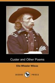 Cover of: Custer and Other Poems