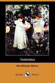 Cover of: Yesterdays
