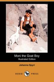 Cover of: Moni the Goat Boy