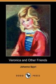 Cover of: Veronica and Other Friends