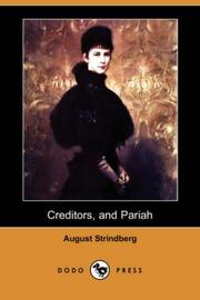 Cover of: Creditors; Pariah