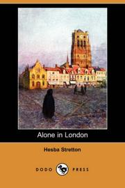 Cover of: Alone in London
