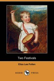 Cover of: Two Festivals