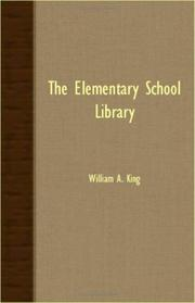Cover of: The Elementary School Library
