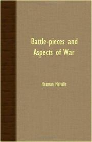Cover of: Battle-Pieces And Aspects Of War | Herman Melville