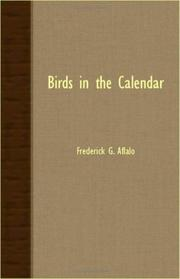 Cover of: Birds in the calendar