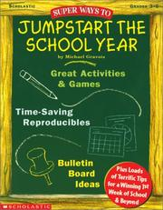 Cover of: Super Ways to Jumpstart the School Year (Grades 3-6)