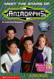 Cover of: Meet the stars of Animorphs