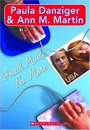 Cover of: Snail mail no more