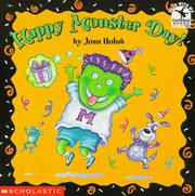 Cover of: Happy Monster Day!