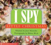 Cover of: I spy little Christmas