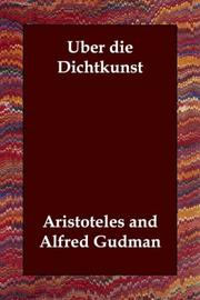Cover of: Uber die Dichtkunst by Henry Fielding