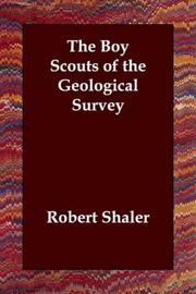 Cover of: The Boy Scouts of the Geological Survey