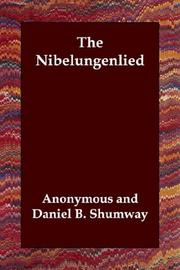 Cover of: The Nibelungenlied | Anonymous