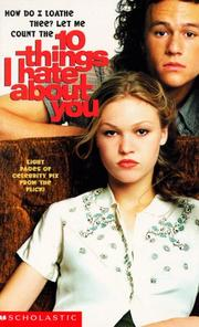 Cover of: 10 Things I Hate About You