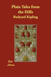 Cover of: Plain Tales from the Hills | Rudyard Kipling