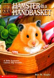 Cover of: Hamster in a Handbasket (Animal Ark Series #16) | Jean Little