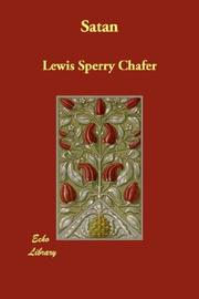 Cover of: Satan | Lewis Sperry Chafer