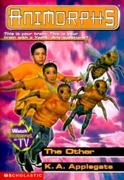 Cover of: Animorphs #40 | Katherine A. Applegate