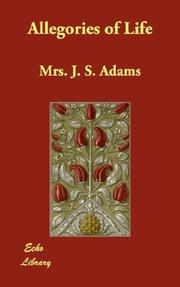 Cover of: Allegories of Life