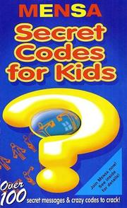 Cover of: Secret Codes for Kids