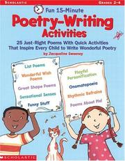 Cover of: Fun 15-Minute Poetry-Writing Activities (Grades 2-4)