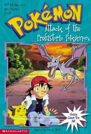 Cover of: Attack of the Prehistoric Pokemon (Pokemon Chapter Book #3)