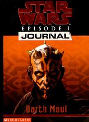 Cover of: Star wars, episode I, journal: Darth Maul