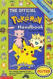Cover of: The official Pokémon handbook | Maria S. Barbo