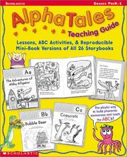 Cover of: Alpha Tales Teaching Guide (Grades PreK-1) | Maria Fleming