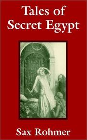 Cover of: Tales of Secret Egypt