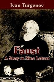 Cover of: Faust: A Story in Nine Letters