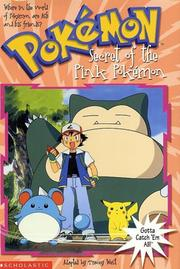 Cover of: The Secret of the Pink Pokémon | Tracey West