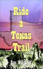 Cover of: Ride a Texas Trail