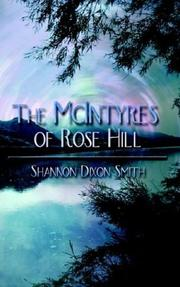 Cover of: The McIntyres of Rose Hill