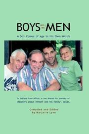 Cover of: Boys Will Be Men | Marjorie Lynn