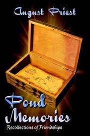Cover of: Pond Memories | August Priest