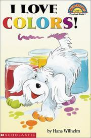 Cover of: I Love Colors | Hans Wilhelm