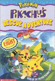 Cover of: Pokemon: Pikachu's Rescue Adventure