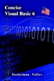 Cover of: Concise Visual Basic 6.0 Course | Souleiman Valiev