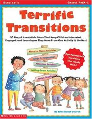 Cover of: Terrific Transitions (Grades PreK-1)